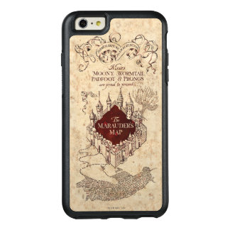 Harry Potter   Marauder's Map OtterBox iPhone 6/6s Plus Case