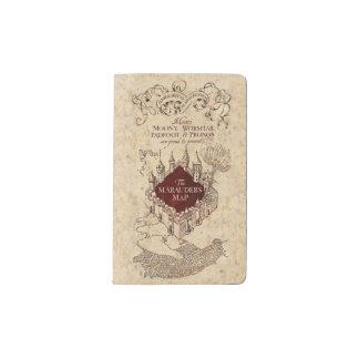Harry Potter   Marauder's Map Pocket Moleskine Notebook