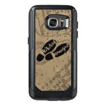 Harry Potter   Mischief Managed Map Footprints OtterBox Samsung Galaxy S7 Case
