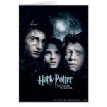 Harry Potter Movie Poster Greeting Card