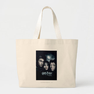 Harry Potter Movie Poster Large Tote Bag
