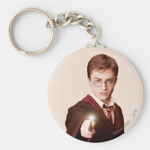 Harry Potter Points Wand Keychain