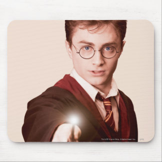 Harry Potter Points Wand Mouse Pad