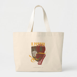 Harry Potter Quidditch Large Tote Bag