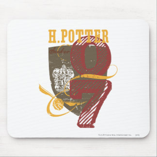 Harry Potter Quidditch Mouse Pad
