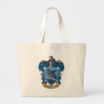 Harry Potter   Ravenclaw Coat of Arms Large Tote Bag