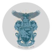 Harry Potter   Ravenclaw Crest Classic Round Sticker