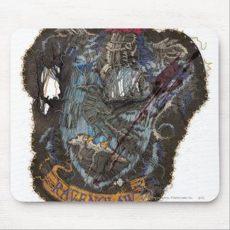 Harry Potter | Ravenclaw Crest - Destroyed Mouse Pad