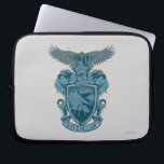 "Harry Potter | Ravenclaw Crest Laptop Sleeve<br><div class=""desc"">&quot;Wit beyond measure is man&#39;s greatest treasure.&quot; Wise words from the most illustrious Hogwarts house - Ravenclaw! From the world of Harry Potter, rediscover the magic with this vintage Hogwarts crest to show your loyalty to this noble house. Set in an icy blue tone, featuring their eagle mascot and other...</div>"