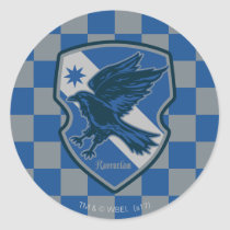 Harry Potter   Ravenclaw House Pride Crest Classic Round Sticker