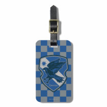 Harry Potter   Ravenclaw House Pride Crest Luggage Tag