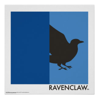 Harry Potter | Ravenclaw House Pride Graphic Poster