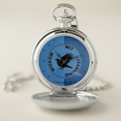 Harry Potter | RAVENCLAW™ House Traits Graphic Pocket Watch