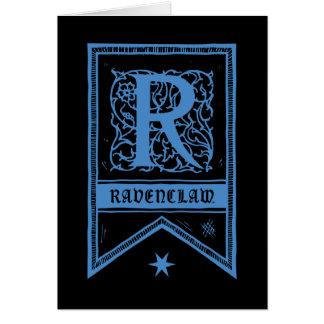 Harry Potter | Ravenclaw Monogram Banner Card