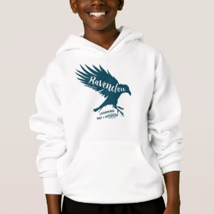 Harry Potter | RAVENCLAW™ Silhouette Typography Hoodie