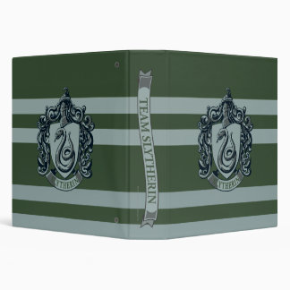 Harry Potter | Retro Mighty Slytherin Crest 3 Ring Binder