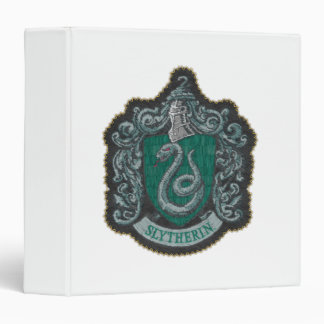 Harry Potter | Retro Mighty Slytherin Crest Binder