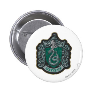 Harry Potter | Retro Mighty Slytherin Crest Button