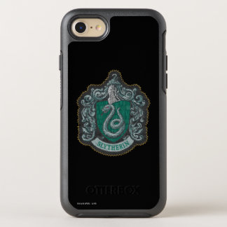 Harry Potter | Retro Mighty Slytherin Crest OtterBox Symmetry iPhone 7 Case