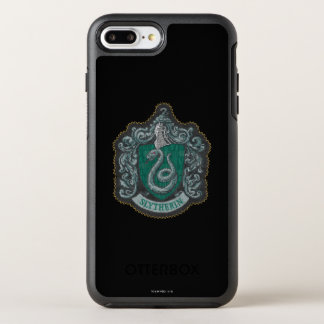 Harry Potter | Retro Mighty Slytherin Crest OtterBox Symmetry iPhone 7 Plus Case