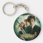 Harry Potter Ron Hermione Dobby Group Shot Keychain
