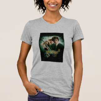 Harry Potter Ron Hermione Dobby Group Shot T Shirt