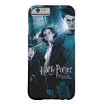 Harry Potter Ron Hermione en bosque Funda De iPhone 6 Barely There