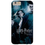 Harry Potter Ron Hermione en bosque Funda De iPhone 6 Plus Barely There