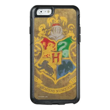 Harry Potter | Rustic Hogwarts Crest Otterbox Iphone 6/6s Case by harrypotter at Zazzle