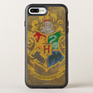 Harry Potter | Rustic Hogwarts Crest OtterBox Symmetry iPhone 7 Plus Case
