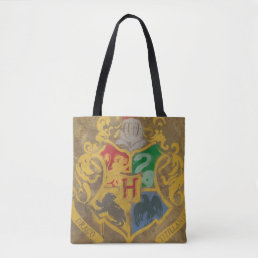 Harry Potter | Rustic Hogwarts Crest Tote Bag