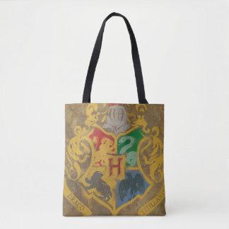 Harry Potter | Rustic Hogwarts Crest Tote Bag