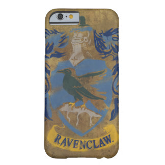Harry Potter | Rustic Ravenclaw Painting Barely There iPhone 6 Case