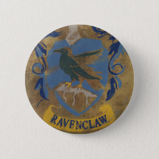 Harry Potter | Rustic Ravenclaw Painting Button