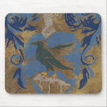 "Harry Potter | Rustic Ravenclaw Painting Mouse Pad<br><div class=""desc"">See here the Hogwarts house sigil for Ravenclaw, well known for their keen learning and sage wisdom. This colorful crest, set in a vintage theme with rustic styling is sure to inspire adults and kids alike around the globe. Featuring their eagle mascot and classic armor suit, you can take the...</div>"