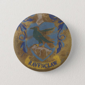 Harry Potter | Rustic Ravenclaw Painting Pinback Button