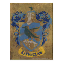 Harry Potter   Rustic Ravenclaw Painting Postcard