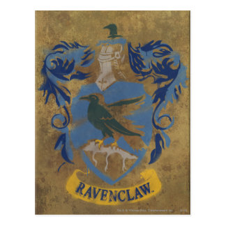 Harry Potter | Rustic Ravenclaw Painting Postcard