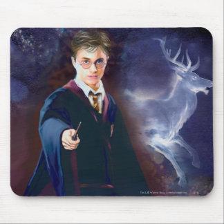 Harry Potter s Stag Patronus Mousepad