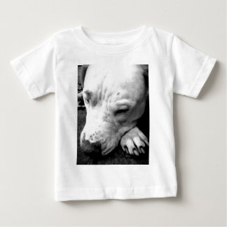 harry potter scar dog white pit bull baby T-Shirt