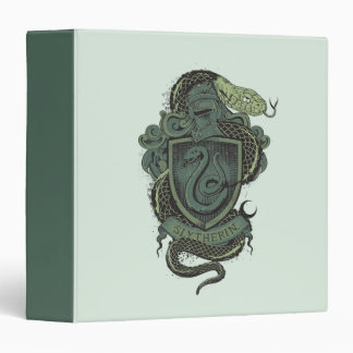 Harry Potter  | Slytherin Crest 3 Ring Binder