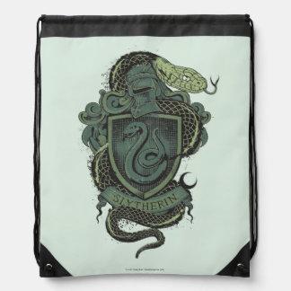 Harry Potter  | Slytherin Crest Drawstring Backpack