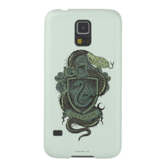 Harry Potter    Slytherin Crest Galaxy S5 Cover