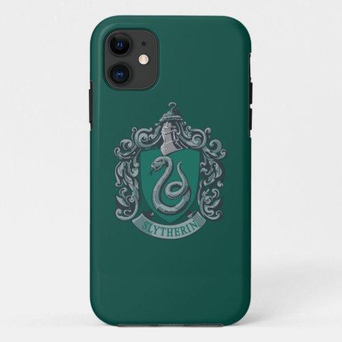 Harry Potter | Slytherin Crest Green Phone Case
