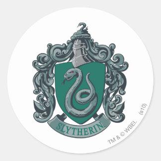 Harry Potter | Slytherin Crest Green Classic Round Sticker