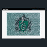 "Harry Potter | Slytherin Crest Green Decals For Laptops<br><div class=""desc"">Are you a dark wizard? Do you strive for greatness and power? Do you sympathize with Lord Voldemort and his quest for power? If your answer to any of these questions is yes, then this dark design of the Slytherin house crest is just what you need! It offers the perfect...</div>"
