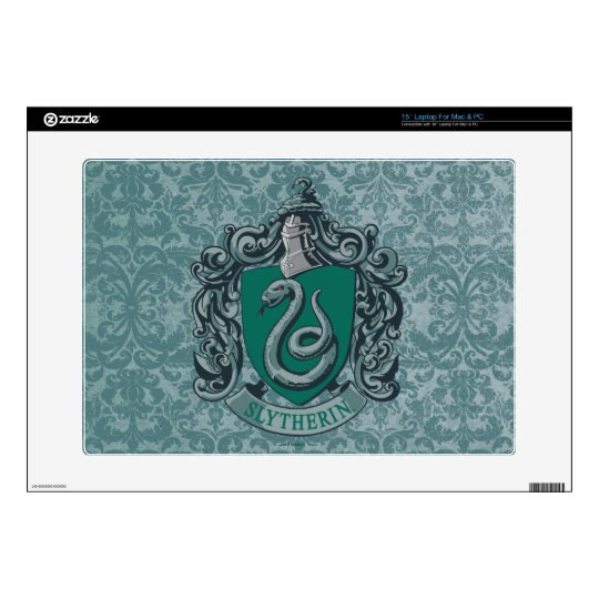 Harry Potter   Slytherin Crest Green Decals For Laptops