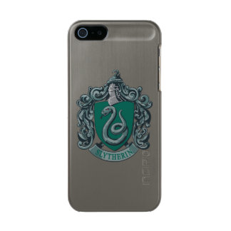 Harry Potter | Slytherin Crest Green Metallic iPhone SE/5/5s Case