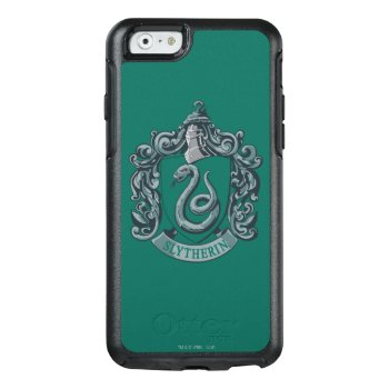Harry Potter | Slytherin Crest Green Otterbox Iphone 6/6s Case by harrypotter at Zazzle
