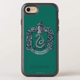 Harry Potter | Slytherin Crest Green OtterBox Symmetry iPhone 8/7 Case